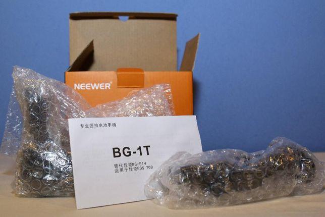 Punho / Grip Neewer BG-E14 Canon 70D / 80D / 90D + 2 Baterias LP-E6