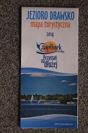 Jezioro Drawsko-mapa turystyczna-1067