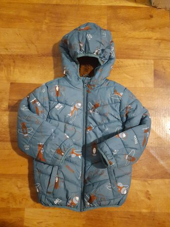 Куртка зимняя LC Waikiki р.4-5 на мальчика курточка