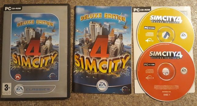 SimCity 4 Deluxe Edition PC PL