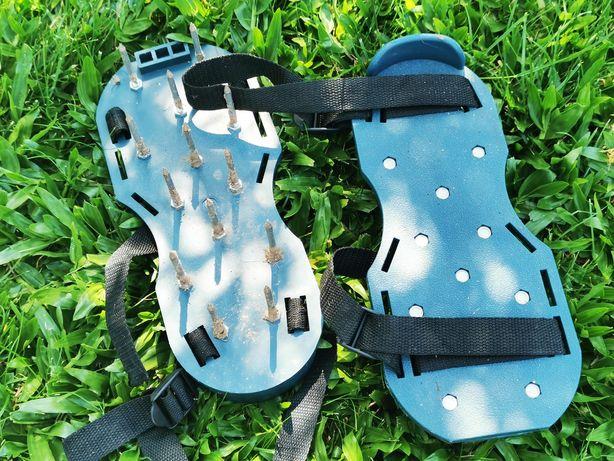 Sapatos escarificadores