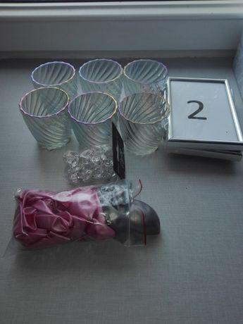 Dekoracje ślubne, karton na koperty