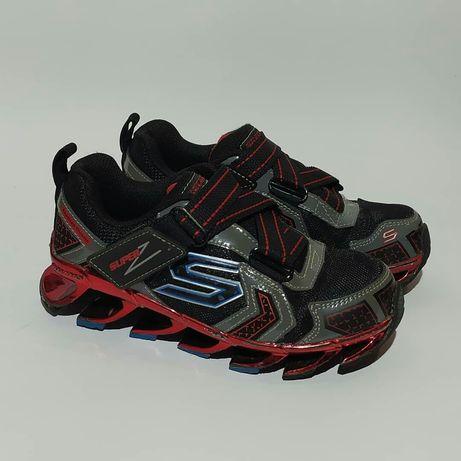 Skechers оригинал размер 28 детские кроссовки как Nike Adidas