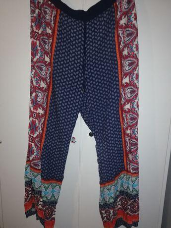 Duże spodnie, boho, Orient, rozmiar XXL