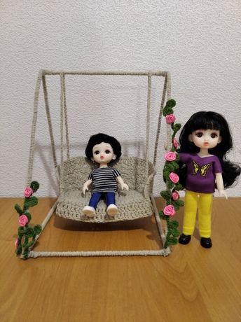 Качели для куклы Баболи одежда для Барби