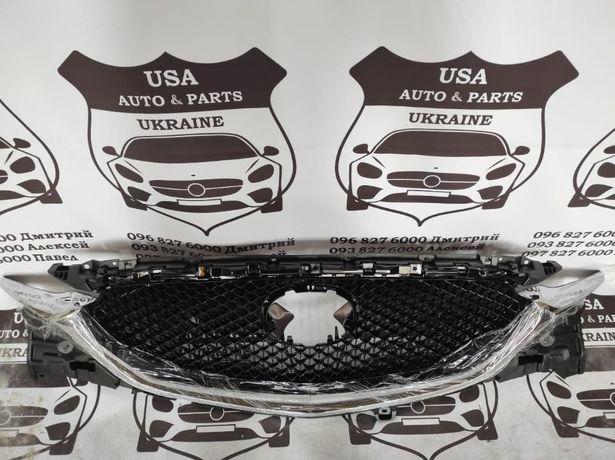 Решетка радитора Mazda CX-5 2018 2019 2020 бампер капот фары