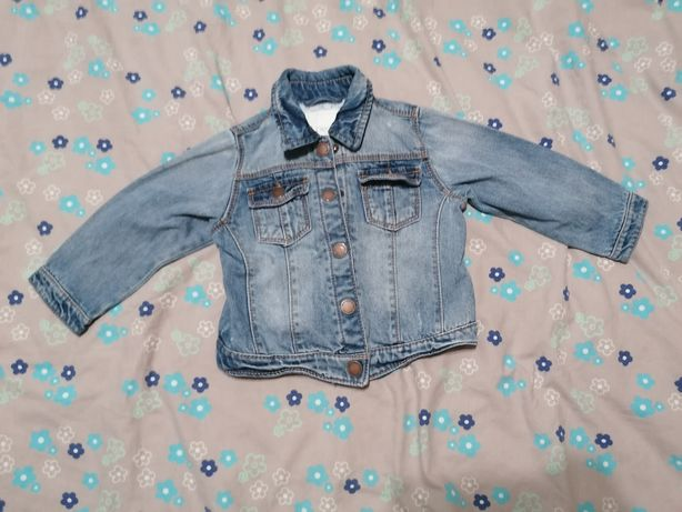 Katana kurtka jeansowa dżinsowa NEXT 12-18 miesięcy 86