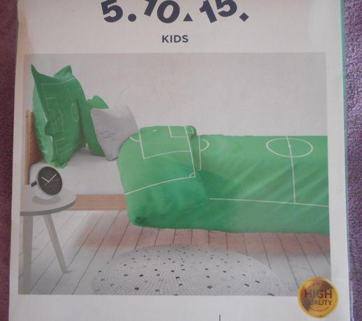 NOWY Komplet pościeli bawełnianej BOISKO 160x200-70x80cm.