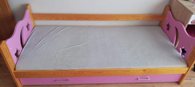 Łóżko 80x180 uszkodzone bez materaca