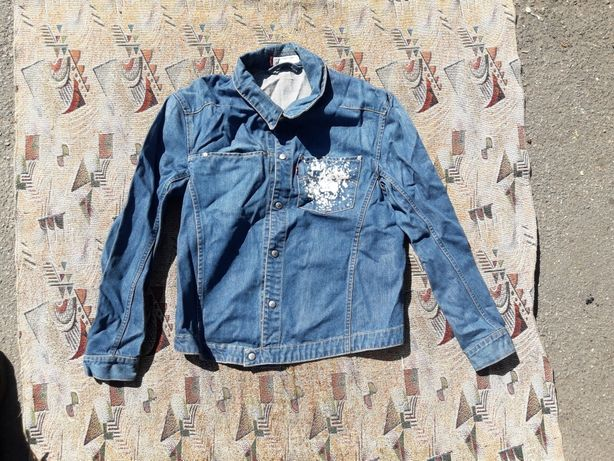Мужская джинсовая куртка рубашка Engeneered Levi's размер L