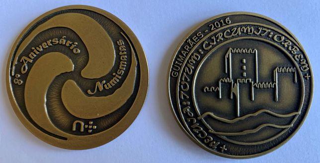 Numismatica - Medalha do 8º Encontro do Fórum dos Numismatas