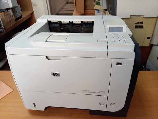 Лазерный принтер HP LaserJet P3015, пробег 65000 стр.