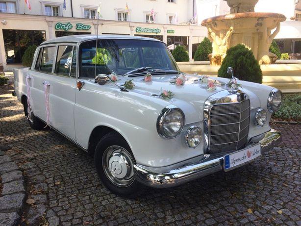 Na wynajem piękny Mercedes Skrzydlak klasyk zabytkowe auto do ślubu