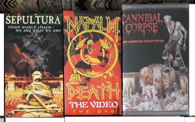 Видеокассеты Rock Metal