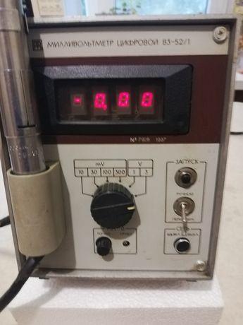 Милливольтметр в3-52/1. Рабочий оригинал! Обмен на частотомер.