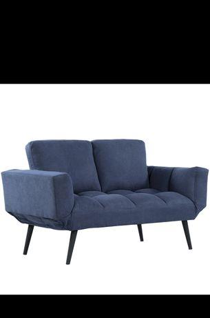 Sofa 2 osobowa, rozkładane boki