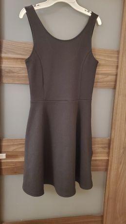 Czarna sukienka H&M S