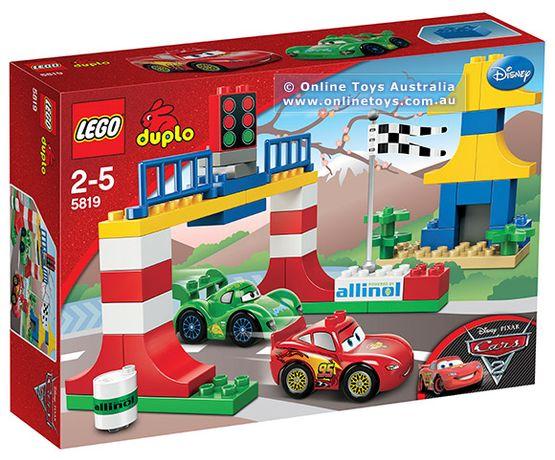 Конструктор 5819 Дупло Тачки 2 Токийские гонки LEGO Cars 2 Duplo