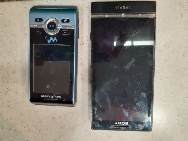 Telefon Sony Xperia i Ericsson
