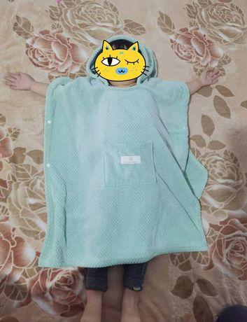 Дитячий рушник- пончо