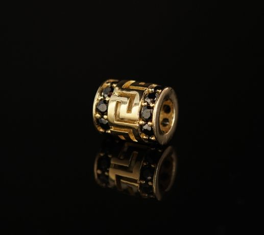 Złoto 585-złota zawieszka ala Pandorka Grecki Wzór.