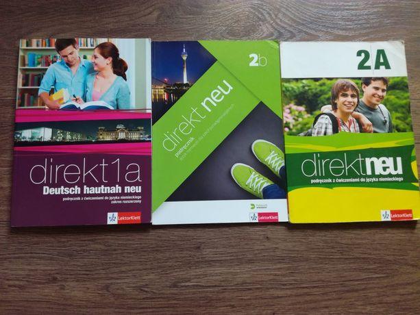 Podręczniki szkolne liceum, j.niemiecki