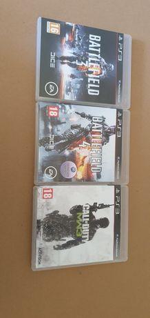 Jogos PS3 Battlefield 3, 4 COD MW3