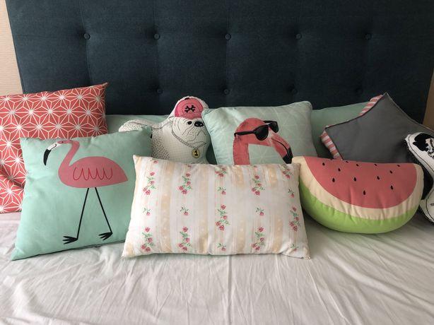 Conjunto de 10 almofadas decorativas