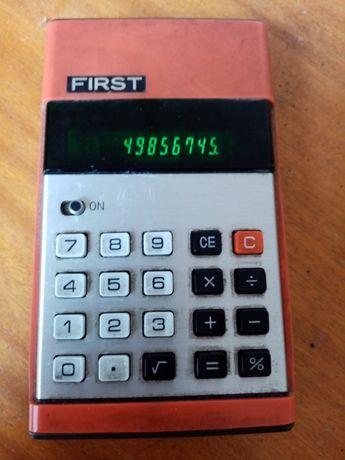 calculadora vintage/retro marca FIRST