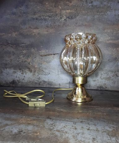 Lampa buble glass H. Tynell lata 60 prl vintage