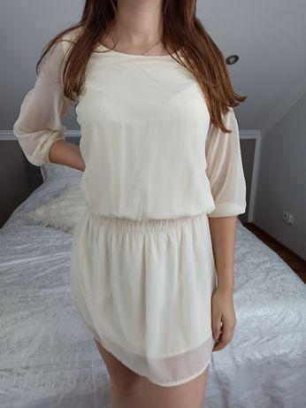 Biała sukienka S/M