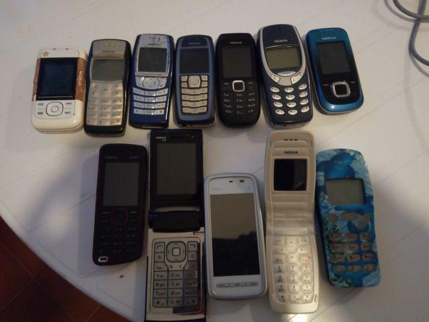 Coleção telemóveis Nokia
