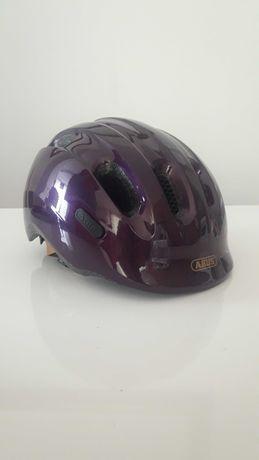 Dziecięcy Kask ABUS Smiley 2.0 Royal purple 50-55