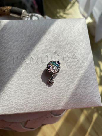 Charms Pandora kwiecista tęcza nowy srebro ale