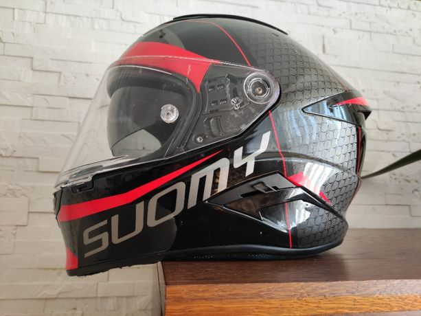 Kask Suomy Speedstar Rap Red 1400g