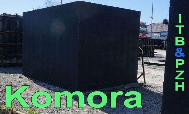 Komora wodomierzowa studnia betonowa prostokątna szambo studzienka 10