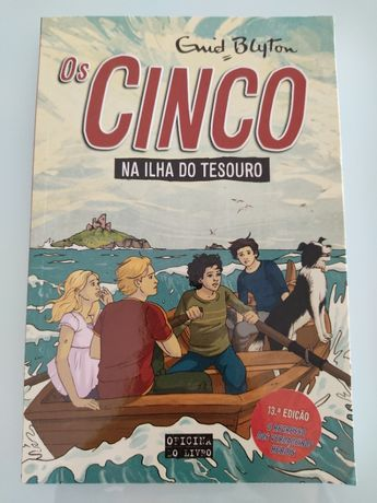"Livro ""Os Cinco na Ilha do Tesouro (Volume 1)"