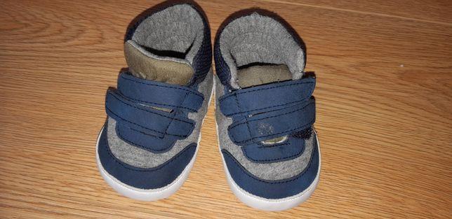 Buty niechodki na rzepy