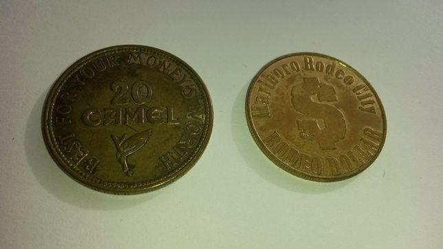 Camel Marlboro żeton token 1959 papierosy