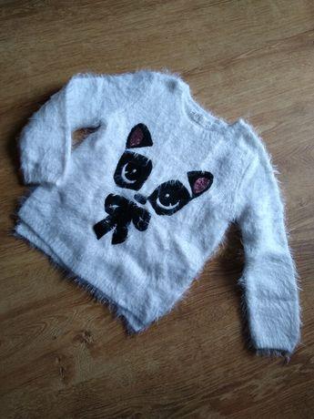 Sweter włochacz sweterek H&M 98/104
