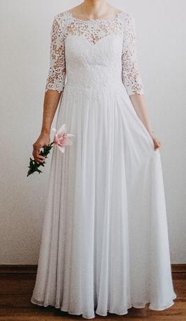 Suknia/Sukienka ślubna z pracowni sukien ślubnych AFRODYTA (SKY)