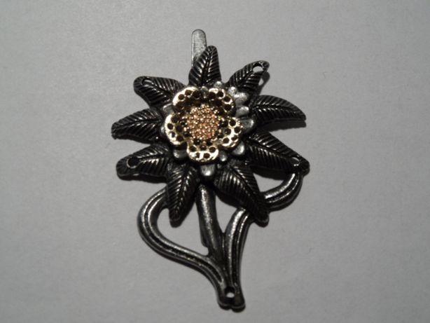 ww2 III rzesza niemiecka wpinka przypinka odznaka edelweiss szarotka
