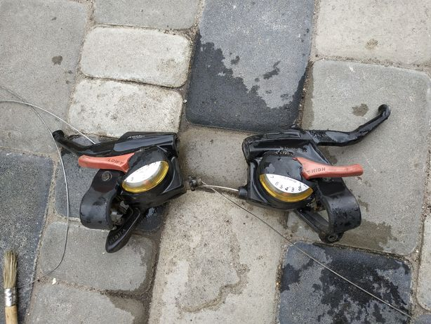 Переключатели,моноблок на велосипед