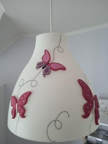lampa sufitowa dziewczęca