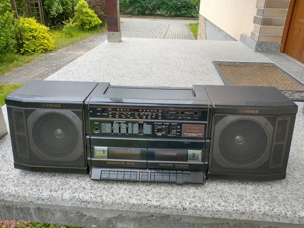Radiomagnetofon Fisher