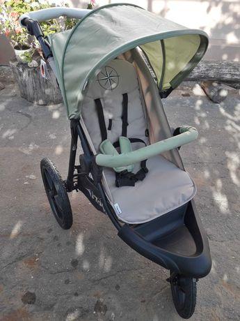 Прогулочная коляска Hauck Runner с тремя пневмоколесами.XL .