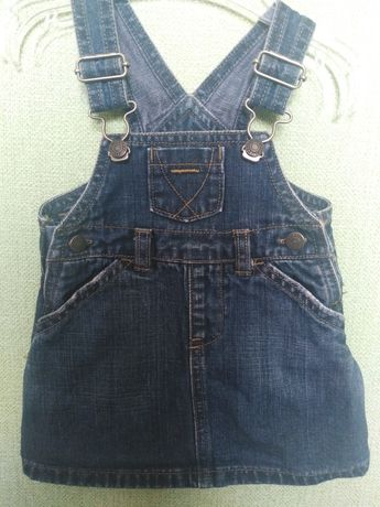 Дитячий джинсовий сарафан