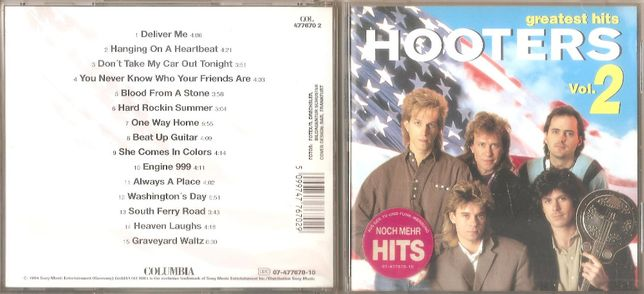 Hooters - The Greatest Hits volume 2 - CD 1994 Columbia Sony Germany