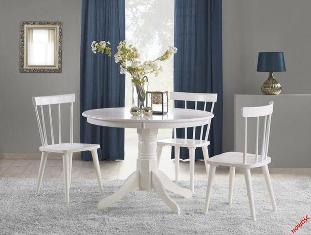 GLOSTER stół biel Lite Drewno Mamy Dużo Pięknych Mebli Dowóz Gratis