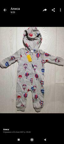 Ромпер флісовий кофта комбінезон комбинезон на мальчика верхня одежа